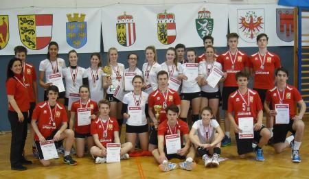 Bundesmeister 2016 Jugend weiblich